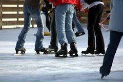 滑冰 免版税库存图片