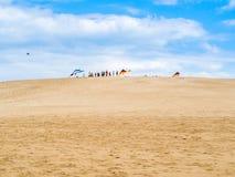 滑动在骑师` s里奇国家公园的巴拉 免版税库存图片