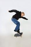 滑板窍门 库存图片