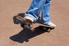 滑板 免版税图库摄影