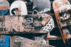 滑板 免版税库存照片