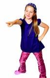 滑稽儿童的舞蹈 图库摄影