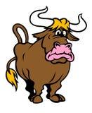 滑稽的公牛 库存图片
