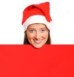 滑稽的圣诞老人 免版税图库摄影