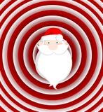滑稽的圣诞老人 皇族释放例证