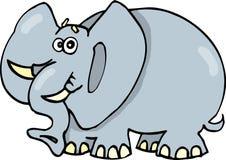 滑稽的大象 免版税库存图片
