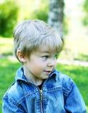 滑稽的孩子 图库摄影