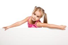 滑稽的小女孩 图库摄影