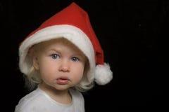 滑稽的小的圣诞老人 库存照片