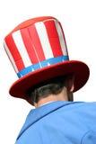 滑稽的帽子山姆伯父 免版税库存图片