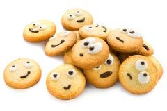 滑稽的曲奇饼 免版税库存照片
