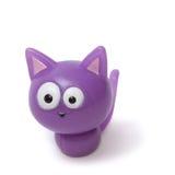 滑稽的查出的小猫丁香 免版税库存图片