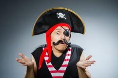 滑稽的海盗 免版税图库摄影