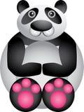 滑稽的熊猫 免版税库存图片