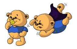 滑稽的熊 库存照片