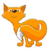 滑稽的狐狸 免版税图库摄影