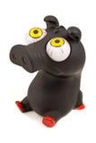 滑稽的猪玩具 免版税图库摄影