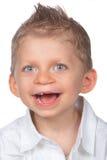 滑稽的男孩 免版税库存图片