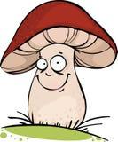 滑稽的蘑菇 库存图片