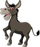 滑稽的驴动画片 免版税库存图片
