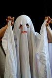滑稽的鬼魂一点 免版税库存图片
