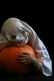 滑稽的鬼魂一点 库存照片