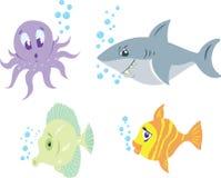 滑稽的鱼 免版税图库摄影