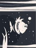 滑稽的鱼 免版税库存照片