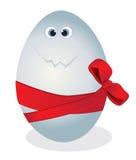 滑稽的鸡蛋 图库摄影