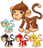 滑稽的猴子 库存照片