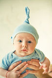 滑稽的婴孩 图库摄影