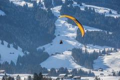 滑翔伞III 免版税库存图片