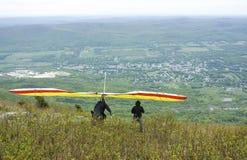 滑翔机吊 库存照片