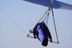 滑翔机吊 免版税图库摄影