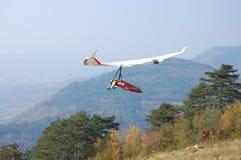 滑翔机吊rogallo翼 库存图片