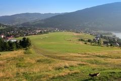 滑翔机的山机场, Zar山 免版税库存图片
