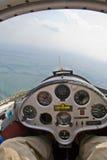 滑翔机运行 图库摄影