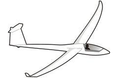 滑翔机 向量例证