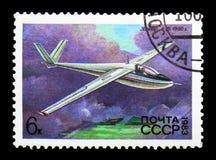 滑翔机A-15 (1960年,安托诺夫),苏联滑翔机serie, ci的历史 库存图片