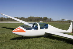 滑翔机sailplane 库存图片