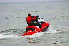 滑行车水 免版税图库摄影