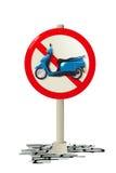 滑行车符号 免版税库存照片