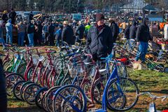 滑行车自行车 免版税库存照片