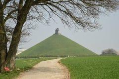 滑铁卢的战场 比利时 库存图片