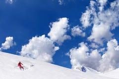 滑雪体育运动 库存图片