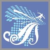 滑雪体育运动 免版税图库摄影