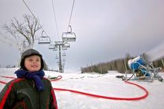滑雪假期冬天 免版税库存照片