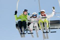 滑雪假期 免版税库存图片