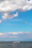滑雪喷气机在海运。 图库摄影
