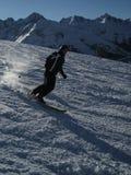 滑雪提洛尔蒂罗尔 库存照片
